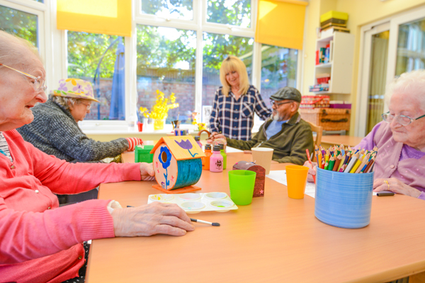 activities at oakcroft nursing home